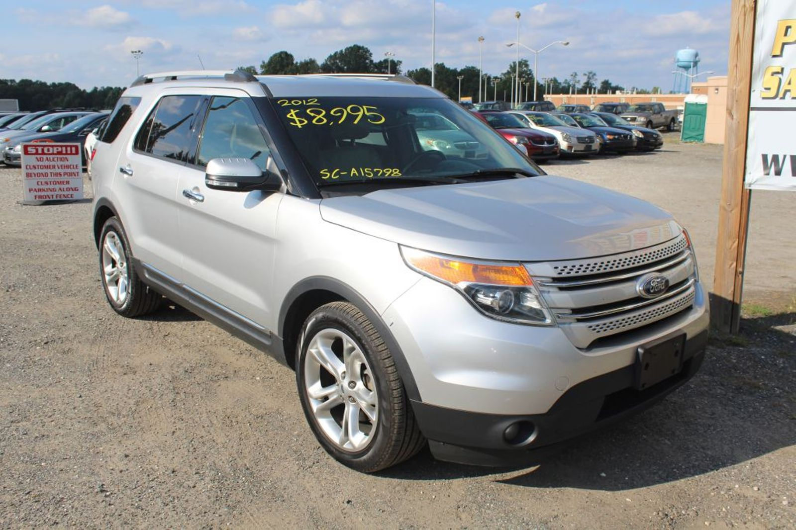 2012 Ford Explorer Limited City Md South County Public Auto Auction Sport In Harwood
