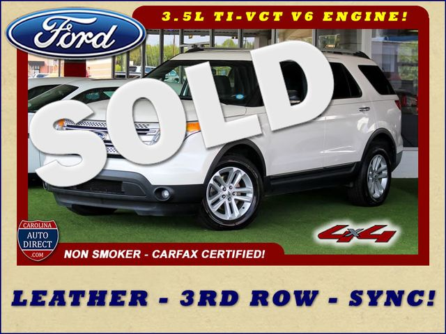 2012 Ford Explorer XLT 4x4 - LEATHER INTERIOR - SYNC W/ BLUETOOTH! Mooresville , NC