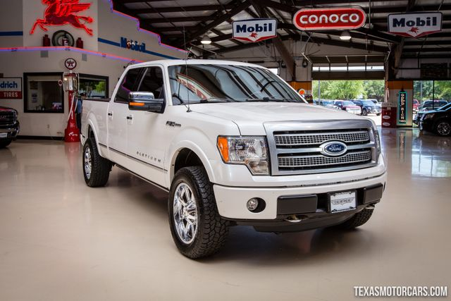 2012 Ford F-150 Platinum 4X4 in Addison Texas, 75001