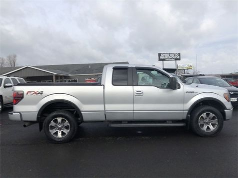 2012 Ford F-150 FX4 4x4 V8 Extended Cab Cln Carfax We Finance | Canton, Ohio | Ohio Auto Warehouse LLC in Canton, Ohio