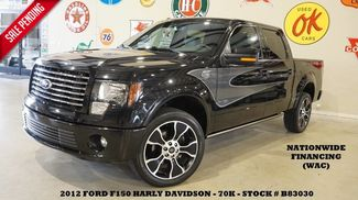 2012 Ford F-150 Harley-Davidson 4WD ROOF,NAV,BACK-UP,HTD/COOL L... in Carrollton TX, 75006