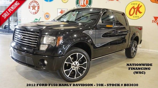 2012 Ford F-150 Harley-Davidson 4WD ROOF,NAV,BACK-UP,HTD/COOL L...