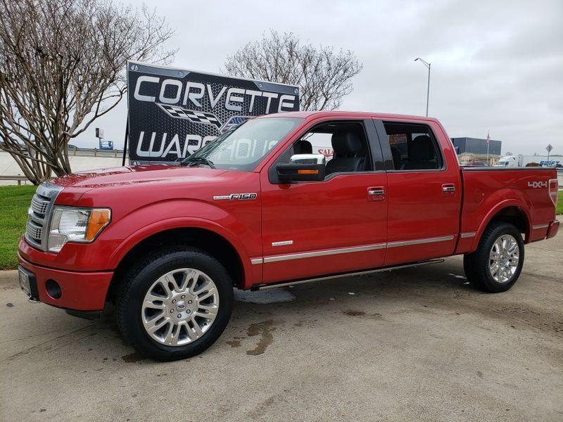 2012 Ford F-150 Platinum 4x4, Auto, Sunroof, NAV,  Alloys 151k!   Dallas, Texas   Corvette Warehouse
