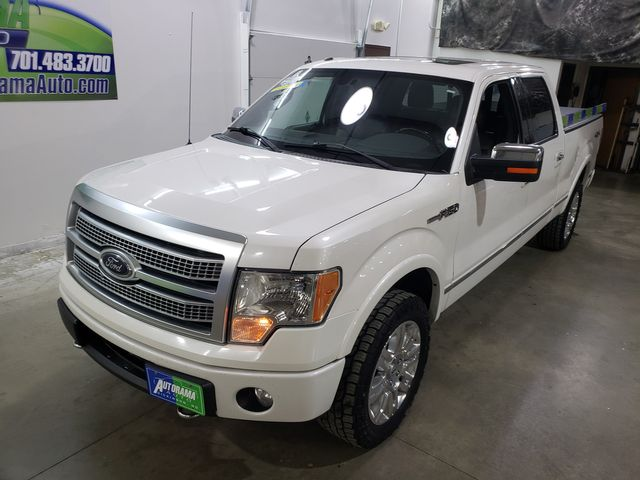 2012 Ford F-150 Platinum Crew 3.5L in Dickinson, ND 58601