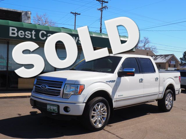 2012 Ford F-150 Platinum Englewood, CO