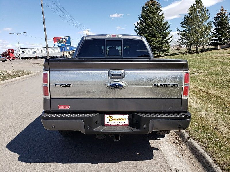 2012 Ford F-150 Platinum  city MT  Bleskin Motor Company   in Great Falls, MT