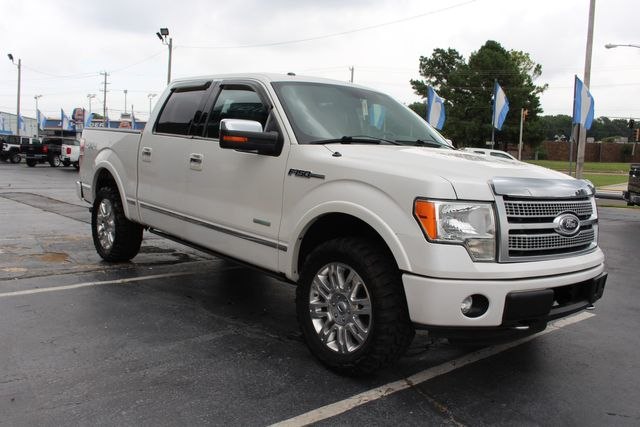 2012 Ford F-150 PLATINUM