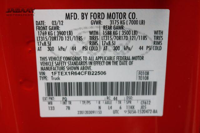 2012 Ford F-150 SVT Raptor Merrillville, Indiana 43