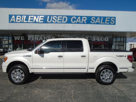 2012 Ford F-150 PLATINUM 4X4  in Abilene, TX