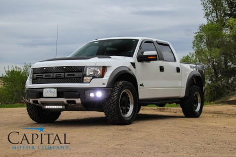 2012 Ford F-150 SuperCrew SVT Raptor 4x4 w/35