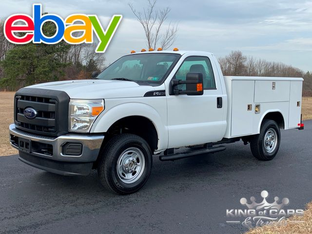 2012 Ford F-250 4x4 1-Owner 6.2L V8 READING UTILITY / SERVICE TRUCK LOW MILES