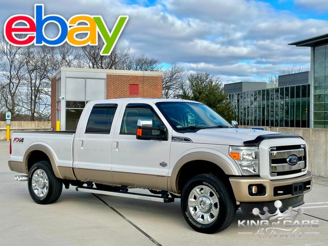 2012 Ford F-250 4x4 6.7 Diesel KING RANCH 76K MILES ONE OWNER