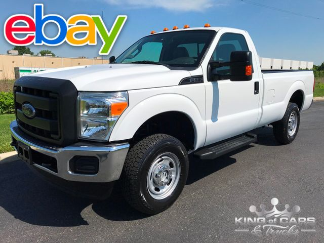 2012 Ford F-250 Super Duty Reg CAB 4X4 8' BED ONLY 55K MILES 2-OWNER