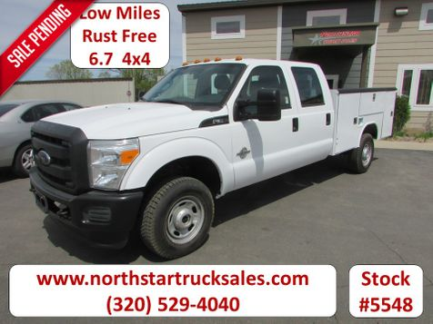 2012 Ford F-350 6.7 4x4 Crew-Cab Service Utility Truck  in St Cloud, MN