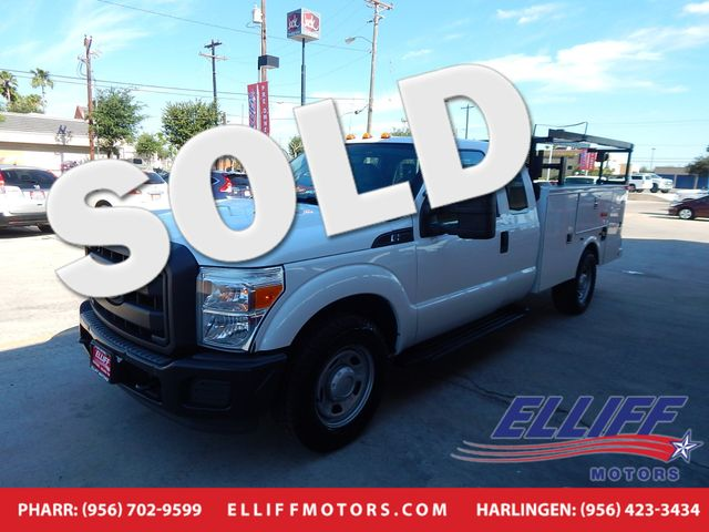 2012 Ford Super Duty F-350 XL SERVICE BED