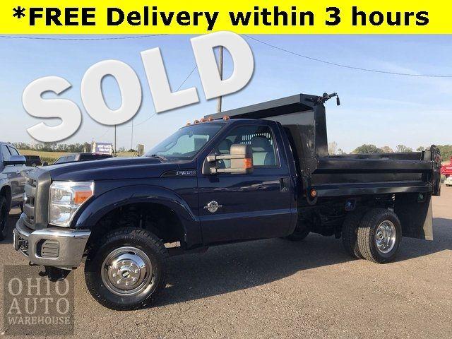 2012 Ford F-350SD XL Dump Bed 4x4 Powerstroke DIESEL 1-Own Cln Ca...