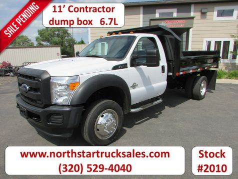 2012 Ford F-450 6.7 4x2 Reg Cab 11' Crysteel Contractor Dump  in St Cloud, MN