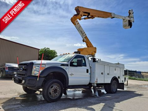 2012 Ford F-550 45' ALTEC ARTICULATING & TELESCOPIC W/ MATERIAL HANDLING BUCKET TRUCK in Fort Worth, TX