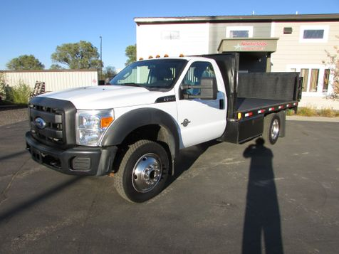 2012 Ford F-550 4x4 Flat-Bed Truck  in St Cloud, MN