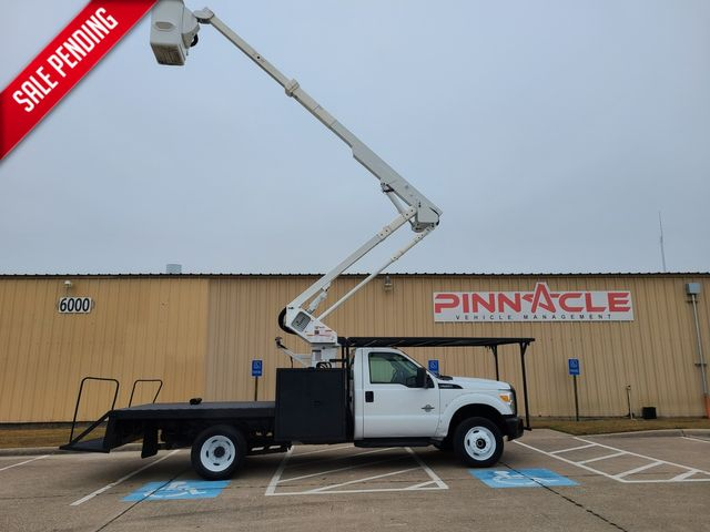 2012 Ford F-550 4X4 FLATBED 45' REACH BUCKET TRUCK F550 4X4 HI RANGER LT40 CAGED in Irving, TX 75039