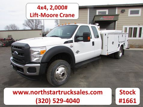 2012 Ford F-550 6.7 4x4 Service Utility Truck  in St Cloud, MN