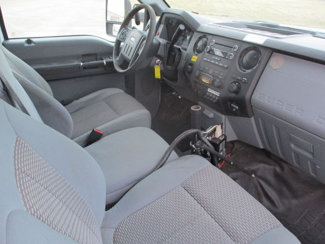 2012 Ford F-550 6.7 DIESEL 4X4 45FT VERSALIFT BOOM Lake In The Hills, IL 10