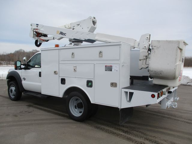 2012 Ford F-550 BUCKET BOOM TRUCK Lake In The Hills, IL 3