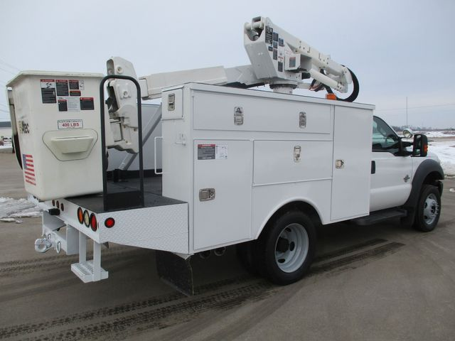 2012 Ford F-550 BUCKET BOOM TRUCK Lake In The Hills, IL 2