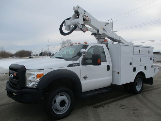 2012 Ford F-550 BUCKET BOOM TRUCK Lake In The Hills, IL 5