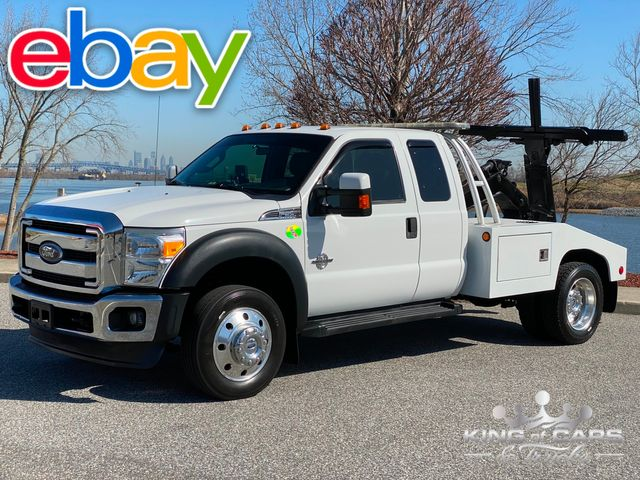 2012 Ford F-550 Xlt Supercab 6.7L DIESEL SELF LOADER MINT LOW MILES in Woodbury, New Jersey 08093
