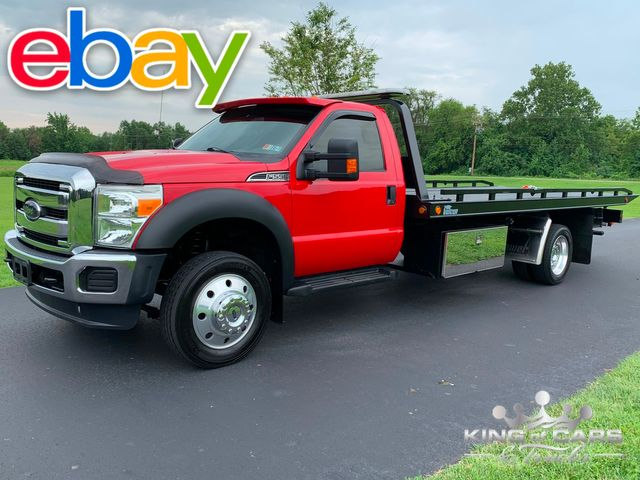 2012 Ford F-550 Xlt VULCAN 2 CAR ROLLBACK LOW MILES