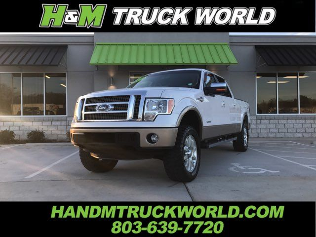 2012 Ford F150 King Ranch Super-Crew 4x4 *LEVELED*35'S*LOADED*