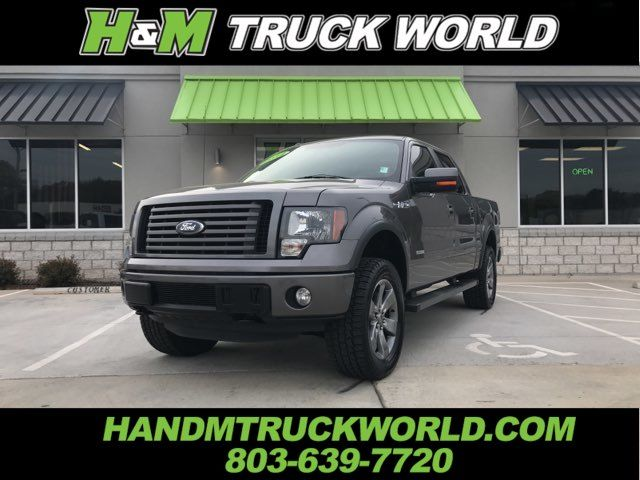2012 Ford F150 FX4 *LEVELED*NAV*ROOF* LOADED AND SHARP