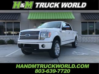 2012 Ford F150 Platinum 4x4 WHITE PLATINUM PAINT AND LOADED in Rock Hill, SC 29730