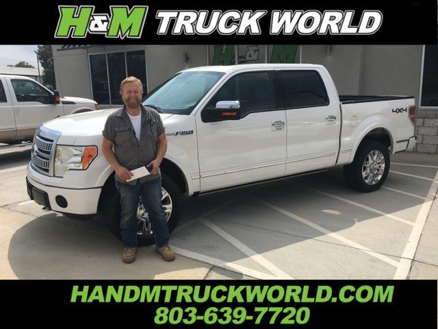 2012 Ford F150 Platinum 4x4 WHITE PLATINUM PAINT AND LOADED