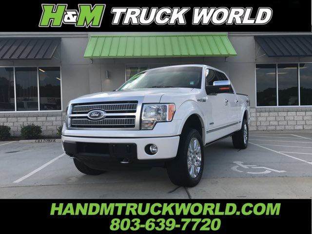 2012 Ford F150 Platinum 4X4 ALL THE OPTIONS SUPER CLEAN in Rock Hill, SC 29730