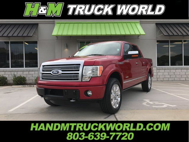2012 Ford F150 Platinum 4x4 *NAVIGATION* *ROOF* LOADED AND SHARP