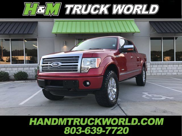 2012 Ford F150 Platinum 4x4 *LEVELED* 33'S * ALL THE OPTIONS in Rock Hill, SC 29730