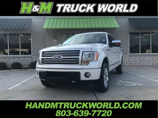 2012 Ford F150 Platinum 4x4 ALL THE OPTIONS AND SUPER CLEAN in Rock Hill, SC 29730