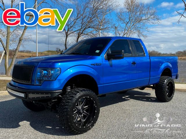 2012 Ford F150 Supercab 5.0l V8 4X4 LOW MILES WHEELS TIRES MINT