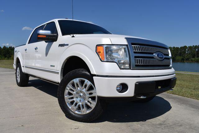2012 Ford F150 Platinum