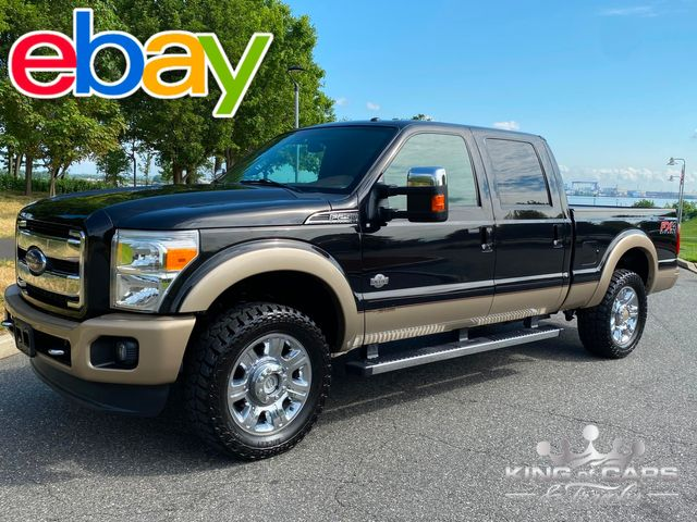 2012 Ford F250 Crew Short Bed 4X4 6.7L DIESEL KING RANCH 2-OWNER LOW MILES MINT