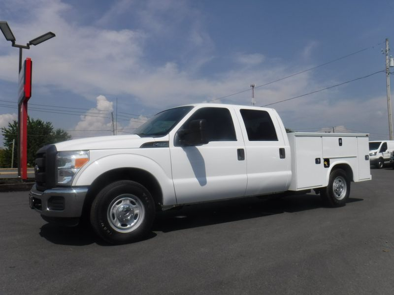 2012 Ford F250 Crew Cab 2wd with New 8' Knapheide Utility Bed in Ephrata PA