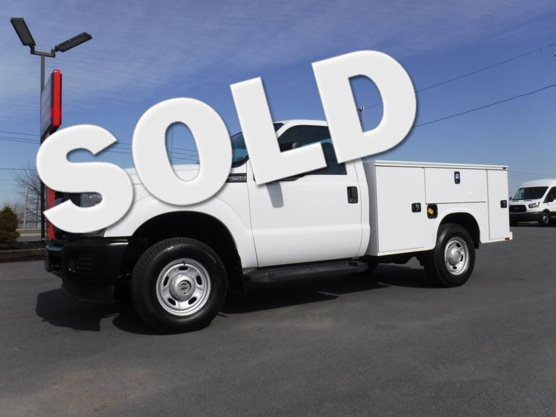 2012 Ford F250  Regular Cab 4x4 with New Knapheide Utility Bed in Ephrata PA