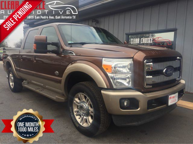 2012 Ford F250SD King Ranch