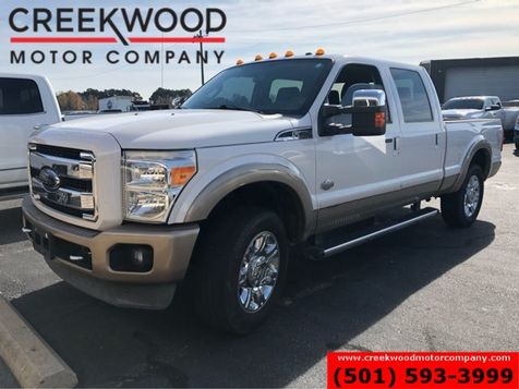2012 Ford Super Duty F-250 King Ranch 4x4 Diesel Nav Roof Chrome 20s 1 Owner in Searcy, AR