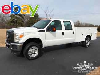 2012 Ford F350 4x4 6.2l V8 CREW CAB KNAPHEIDE UTILITY 1-OWNER in Woodbury, New Jersey 08096