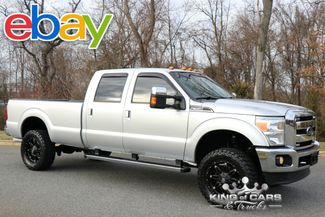 2012 Ford F350 Crew Cab Lariat 6.2L V8 LOW MILES LIFTED 4X4 MINT LOOK in Woodbury, New Jersey 08096