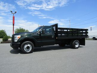 2012 Ford F350 12' Stake Flatbed Truck 2wd in Lancaster, PA, PA 17522