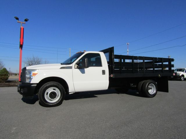2012 Ford F350 12' Flatbed Stake Truck 2wd